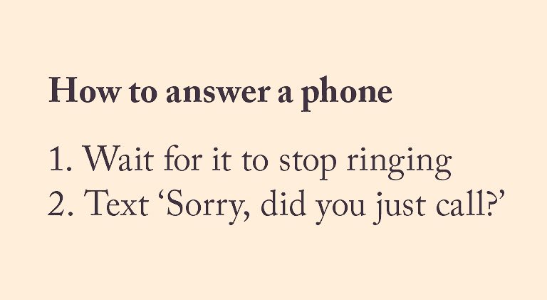 A handy tip from Very British Problems V...