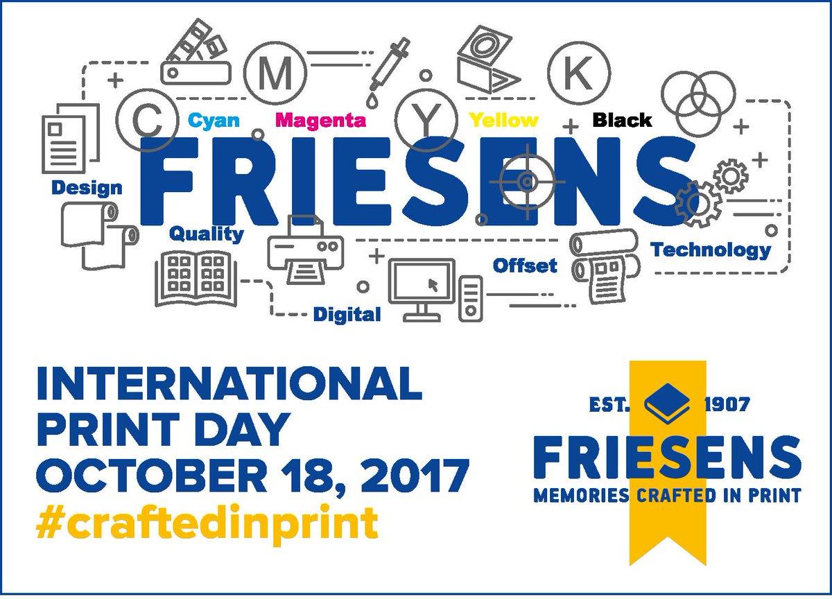 Happy International Print Day!!  #IPD17 #weloveprints #books #printer #books #FriesensYearbook<br>http://pic.twitter.com/iPX4KpmqXd
