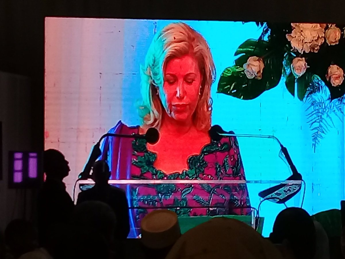 #CI first lady launches #SWEDD great Campaign for #SBCC in #Sahel region. Congrats! @UNFPA_WCARO @UnfpaCI @mabinguengom1 @JosianeYaguibou<br>http://pic.twitter.com/ACOUeEAj9q