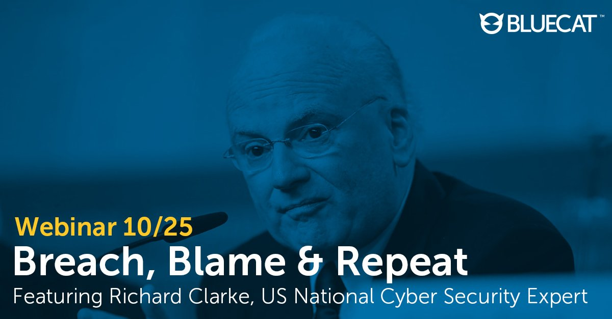 1 week until this can&#39;t-miss webinar! #Cybersecurity expert Dick Clarke discusses #databreach protocol. Register:  http:// bit.ly/2kKCV8c  &nbsp;  <br>http://pic.twitter.com/2uep4RsrcX