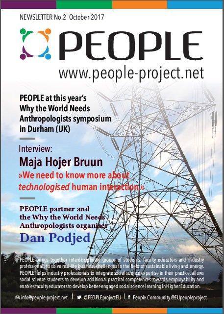 PEOPLE Newsletter No. 2 is out! #PeopleCentred, #humanities #socialsciences &amp; #energy.  #ErasmusPlus #KA2   http:// goo.gl/HYsrkU  &nbsp;  <br>http://pic.twitter.com/hq583UfXYZ