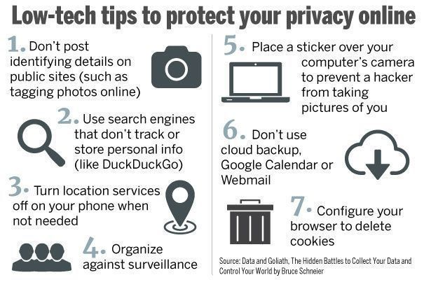 How to protect your #Privacy online? #CyberSecurity #Fintech #Blockchain #Defstar5 #Makeyourownlane #Mpgvip #Infosec #AI #Bots<br>http://pic.twitter.com/mnZOoXT8IF