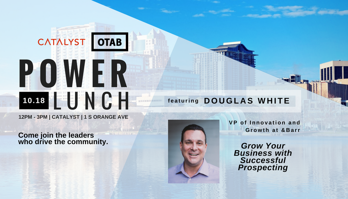 OTAB Power Lunch today @CatalystSpaces! Come get your full serving of knowledge. #bizdev #orlando  https://www. meetup.com/preview/Orland o-Tech-and-Beer/events/243766827 &nbsp; … <br>http://pic.twitter.com/Cu3VeFwAbh