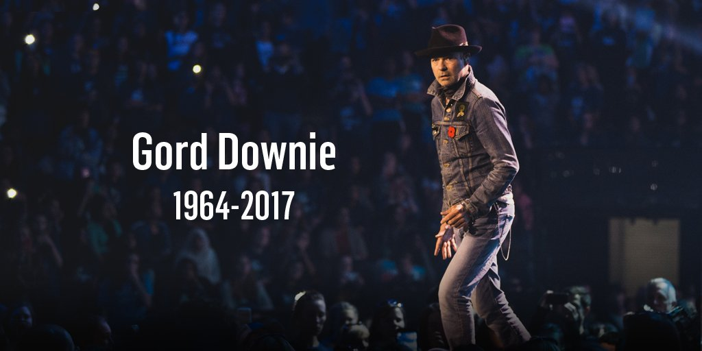 RT @WEMovement: Rest In Peace Gord Downie. 💙 https://t.co/BgruxdnTz6