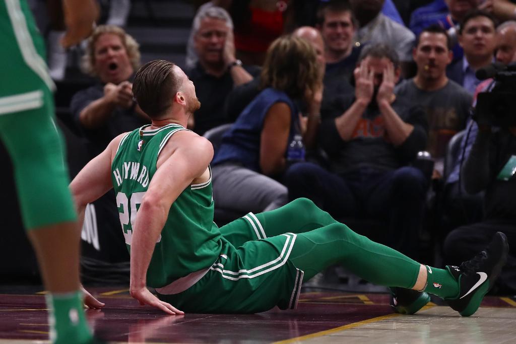 Celtics star Gordon Hayward suffers gruesome injury in opener https://t.co/5y95YpF9xU