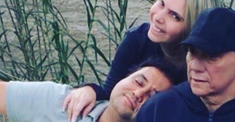 Geraldo Luis visita ex-namorada de Marcelo Rezende no Rio de Janeiro. Veja o que rolou --> https://t.co/FjXOhVL1S0