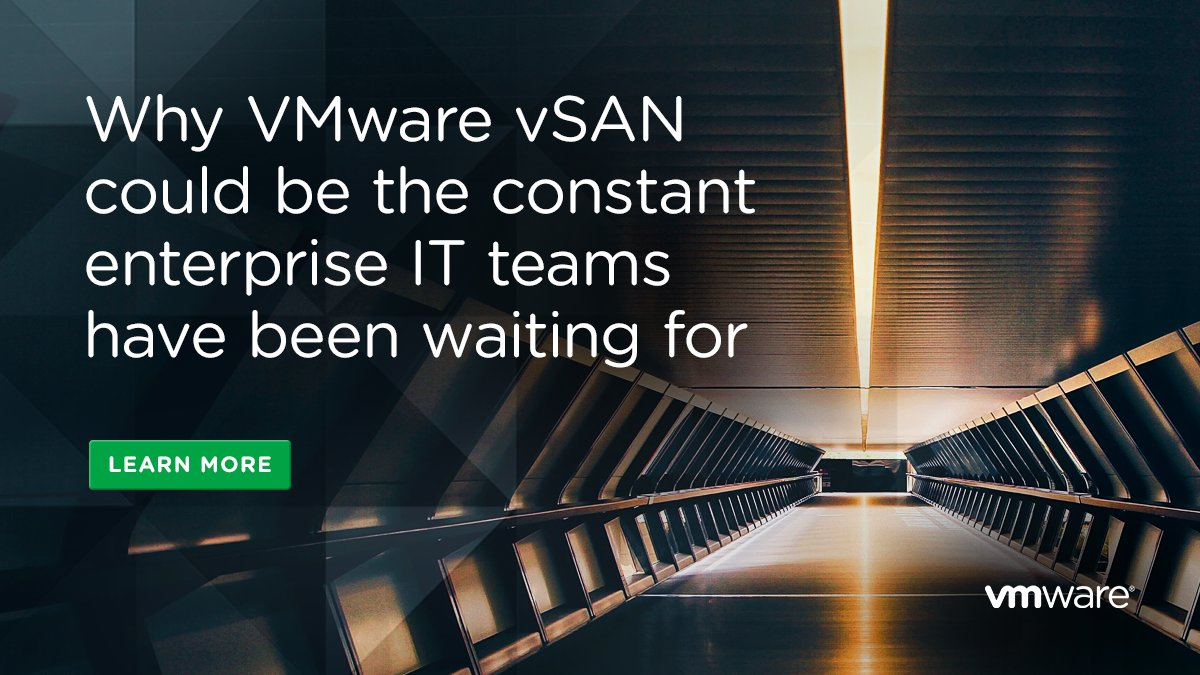 Discover how #vSAN could be the affordable and simple constant to help businesses deploy #HCI:  http:// bit.ly/2kXCVll  &nbsp;  <br>http://pic.twitter.com/DgFjXV2Or0