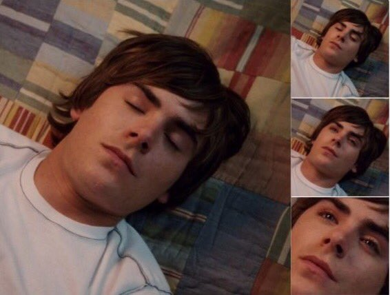 When you realise Zac Efron is 30 today. Happy Birthday  older but still perfection