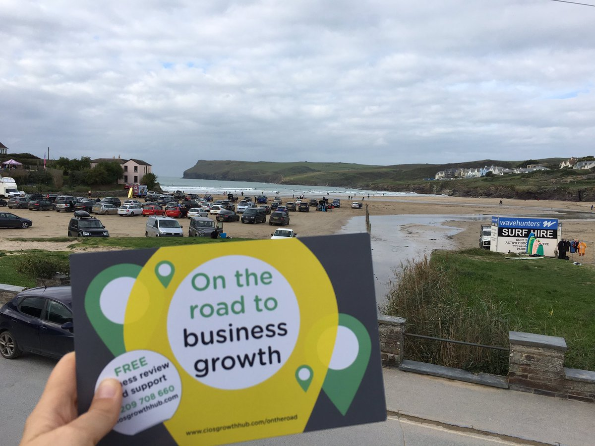 Fun by the sea in Polzeath chatting business support #TownTakeover <br>http://pic.twitter.com/0c6RdCPQQY