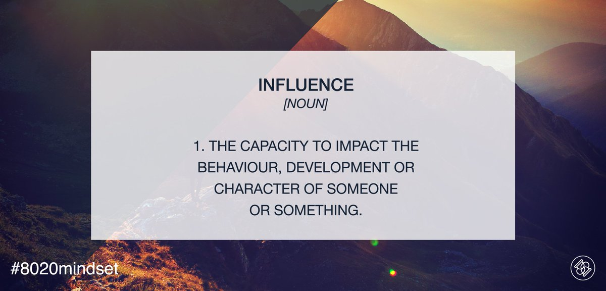 We all impact the people around us &gt; Who do you #influence at work? &gt; #careers #qanda #leaders #questions &gt;<br>http://pic.twitter.com/uyKloZdrio