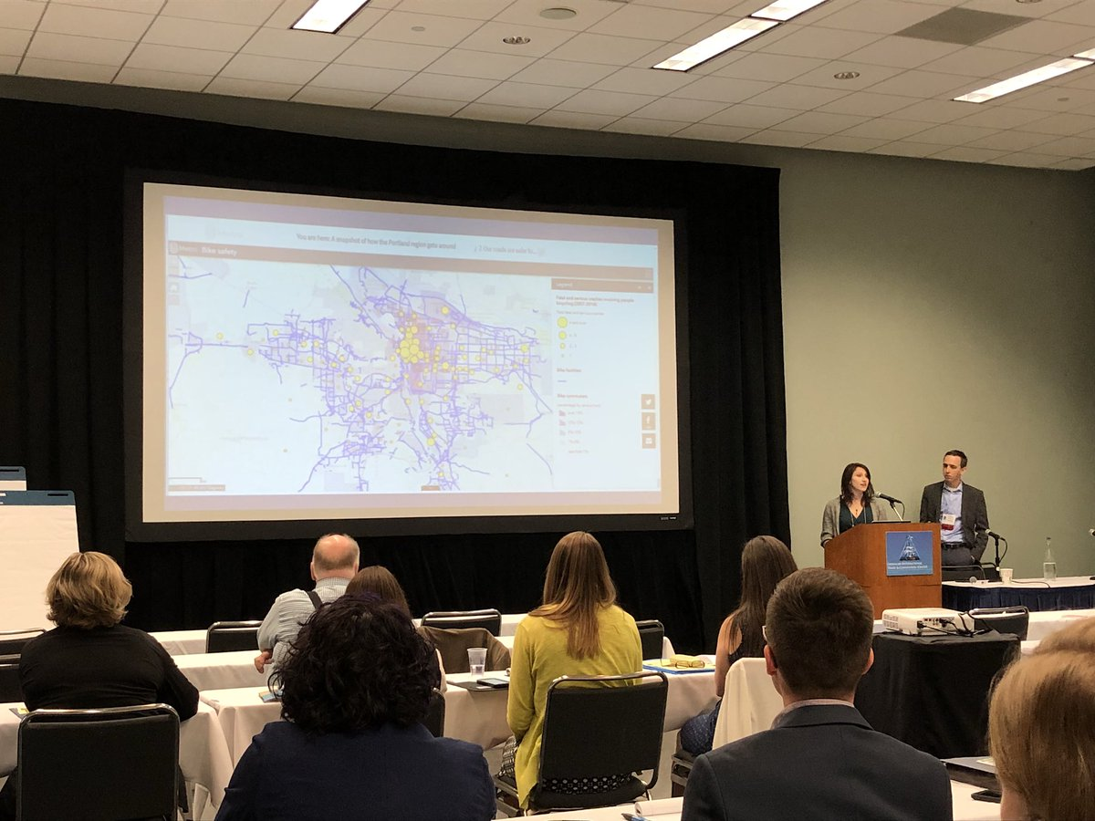 Blown away by the @oregonmetro #AMPO2017 #PublicInvolvement Presentation. I love when a govt agency values relatability in Public outreach <br>http://pic.twitter.com/xll0GAgXRH &ndash; à Savannah International Trade &amp; Convention Center