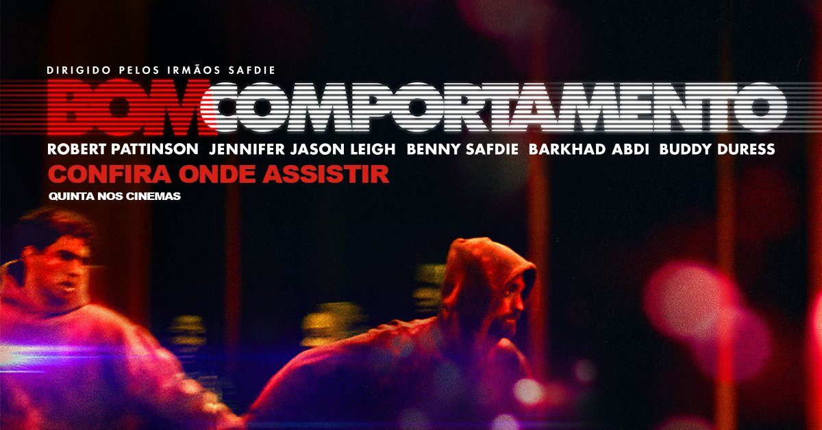 #BomComportamento estreia AMANHÃ nos cinemas. Saiba onde assistir: https://t.co/vLVhTrtdjh