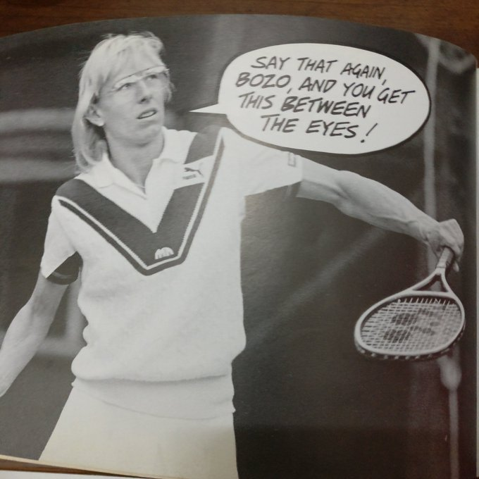 HAPPY BIRTHDAY MARTINA NAVRATILOVA!!