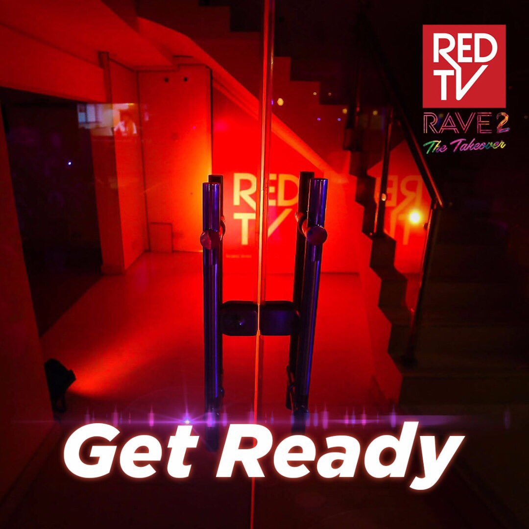 Something exciting is happening over here#GetReady #REDTVRave<br>http://pic.twitter.com/8YtIwuWx9g