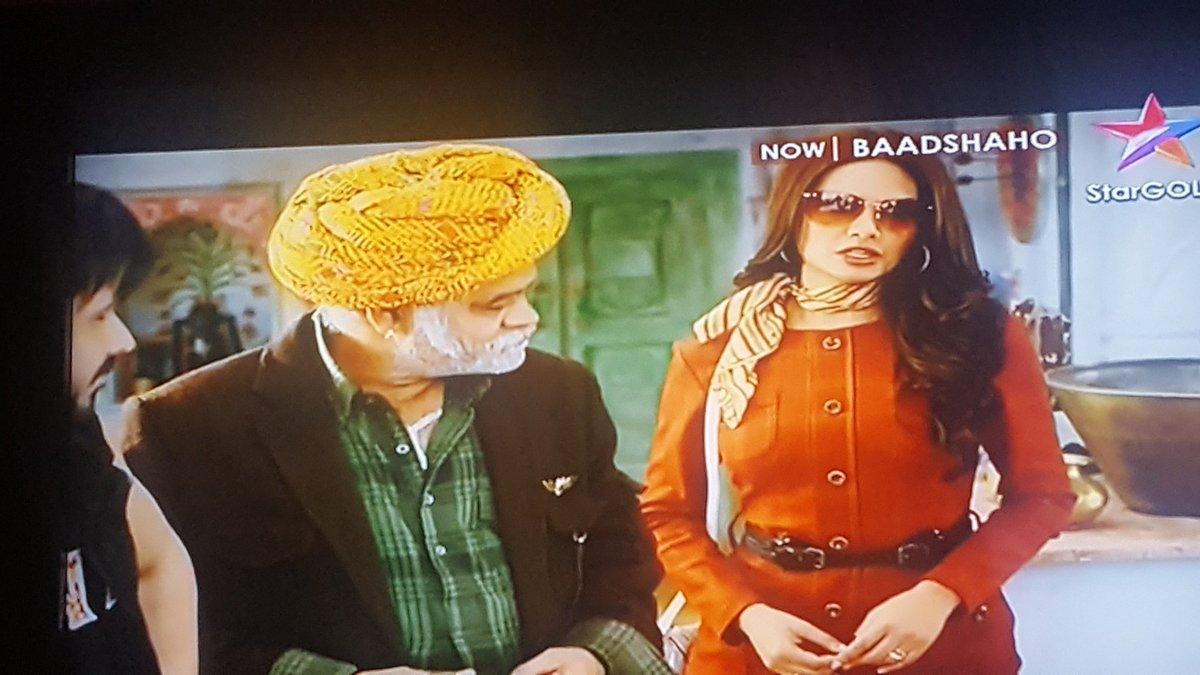 watching cutest actress  @eshagupta2811 in #BAADSHAHO  on star Gold . #baadshahoonstargold<br>http://pic.twitter.com/rmqDYyFgMX