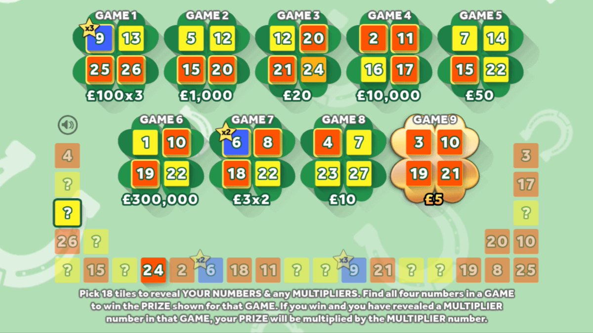 I won £5 on Lucky Numbers Multiplier  https://www. national-lottery.co.uk/games/gamestore  &nbsp;   #BetterChances #GameStore via @TNLUK  #Lucky #Number #Multiplier<br>http://pic.twitter.com/6Zy2px1CY8