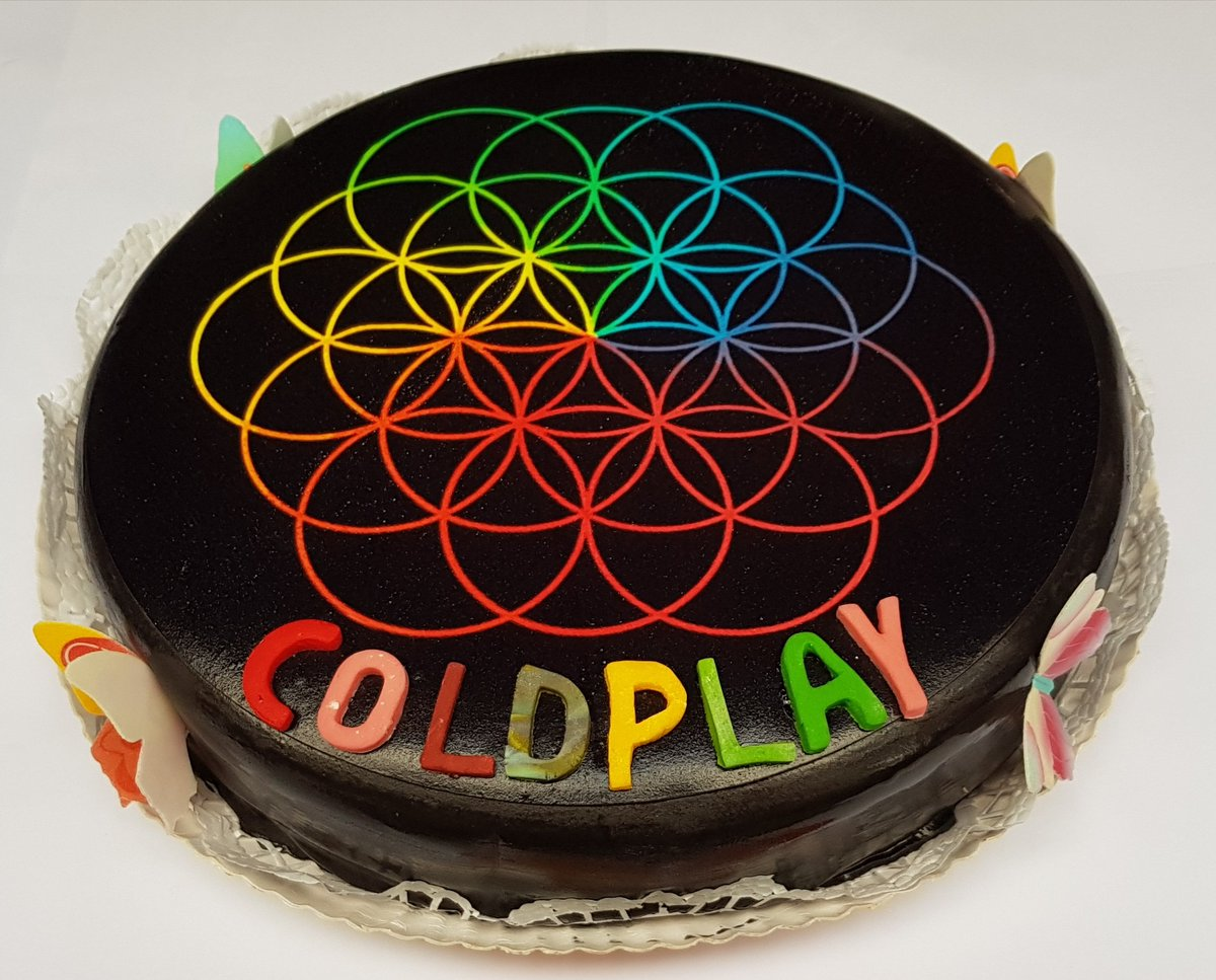 Frank Schriever On Twitter Birthday Cake 2017 Coldplay