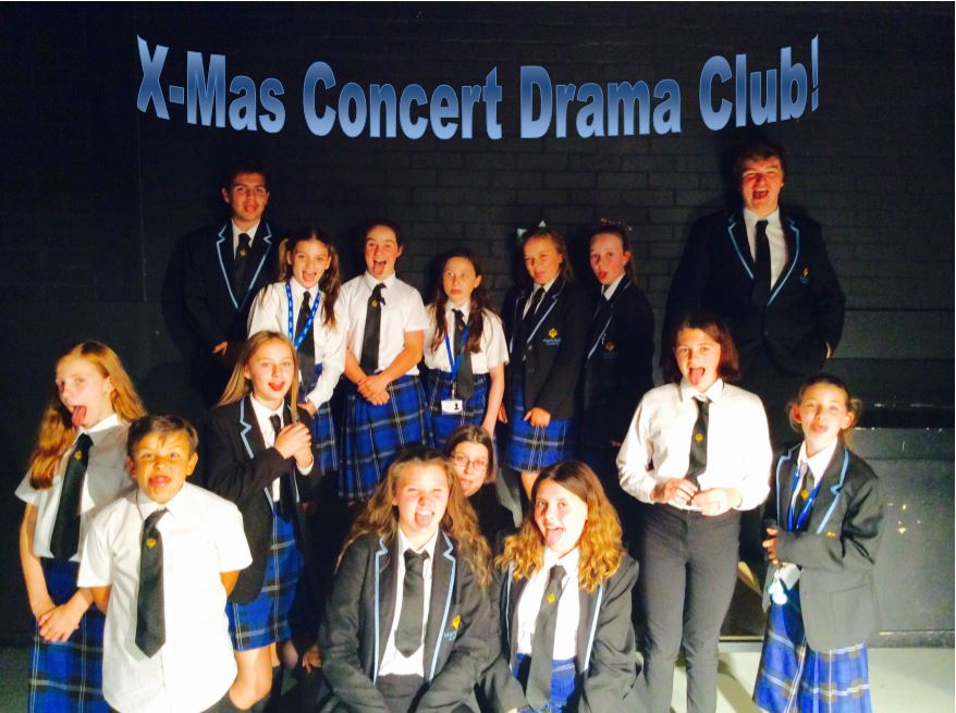 Drama club working on material for the Christmas Concert. Nov 30th. St Mary&#39;s ChurchgateStreet.#GetReady #BeThere #NeverTooEarlyforChristmas<br>http://pic.twitter.com/3jZxAm7RIK