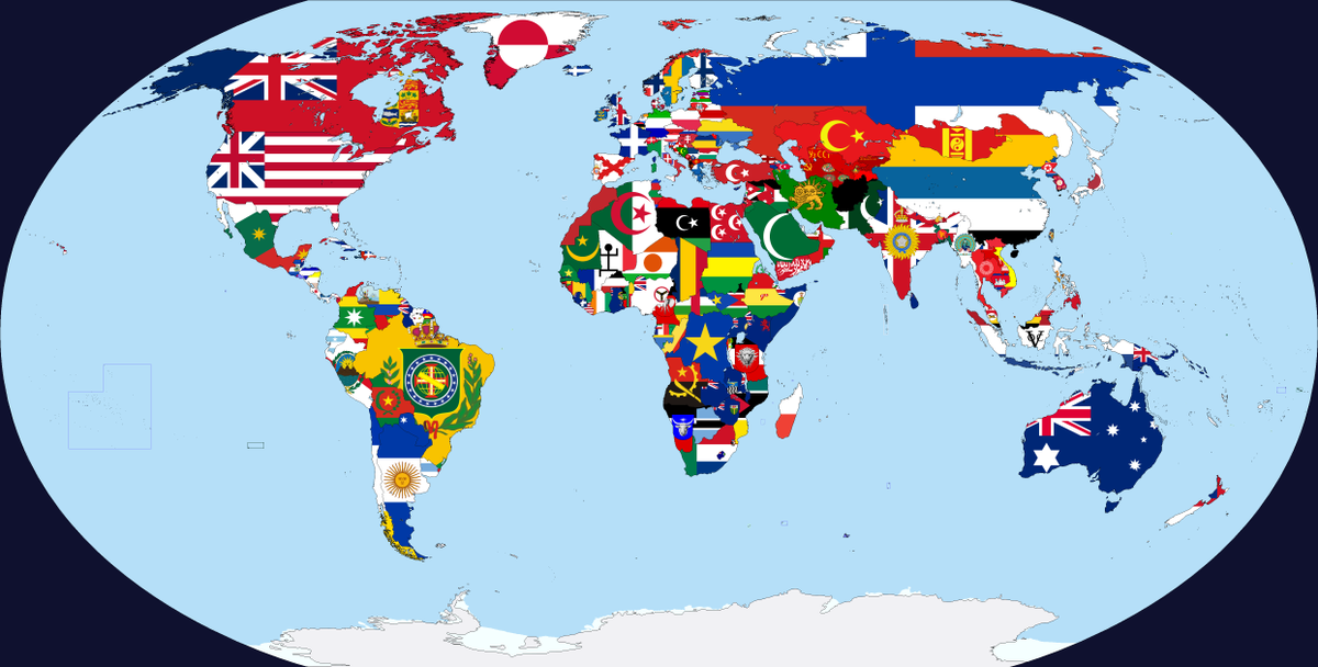 Each country&#39;s first national flag  #map #maps<br>http://pic.twitter.com/QNt6Di3Xy1