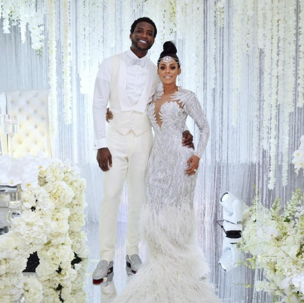 Here's what went down at @gucci1017 and @KeyshiaKaoir's star-studded w...