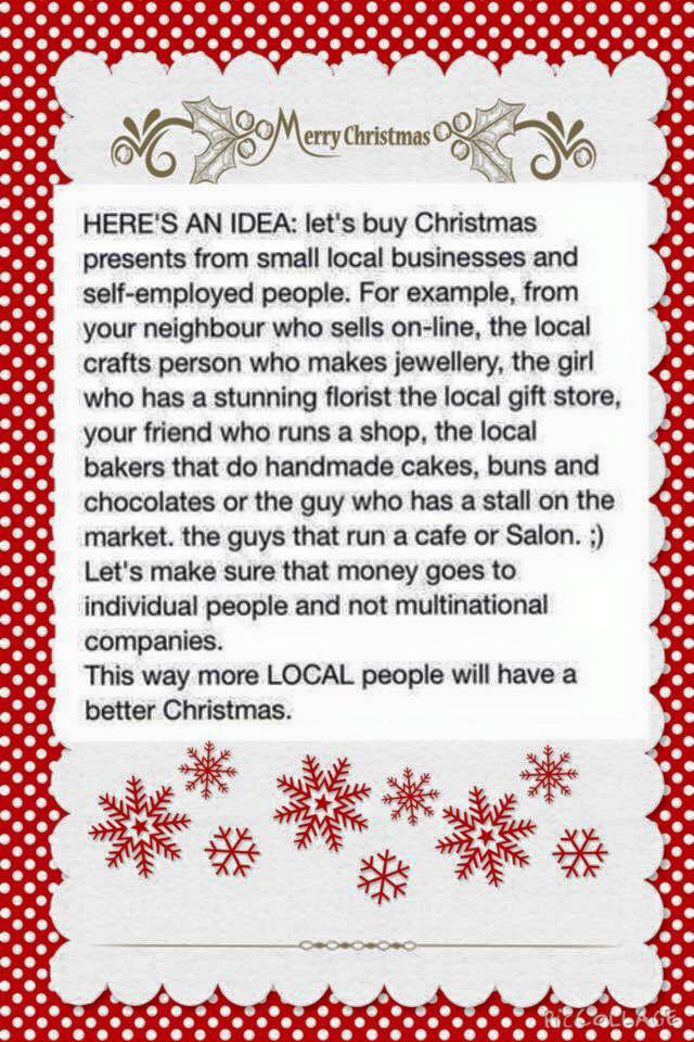 Support local small businesses this Christmas... #supportirish #shoplocal #irish #smallbusinesses #womeninbusiness<br>http://pic.twitter.com/QHyel8XjJo