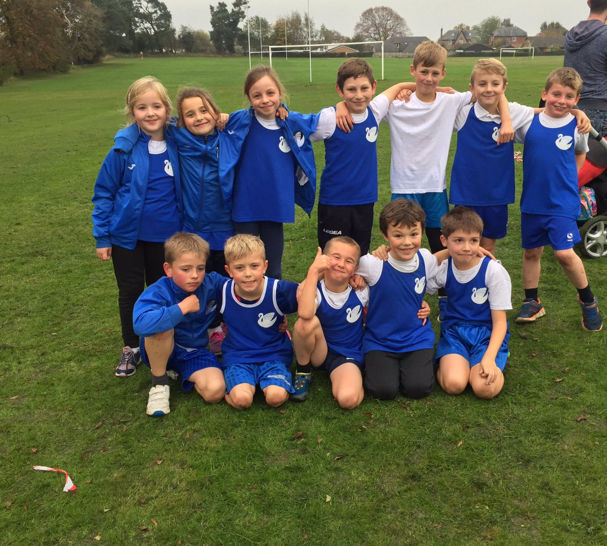 Super star cross country runners at the second event, well done all on improving your previous results! #ellesmere #running #sport