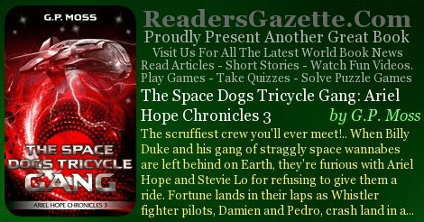 The Space Dogs Tricycle Gang: Ariel Hope Chronicles 3 @cloudy46     #SciFiT#Comedyh#Fantasyehttps://t.co/AzyntsgFJs scru  8#RGBook