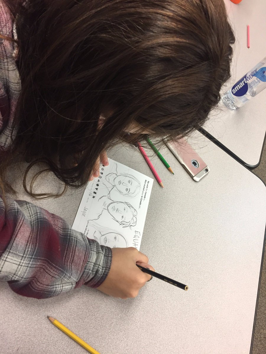 @kpbsd @kchsyt Students working on postcard for the next 150 #globaldignity  cool #Alaska kids celebrating dignity with #Canadian kids <br>http://pic.twitter.com/hmdSd6RXIS