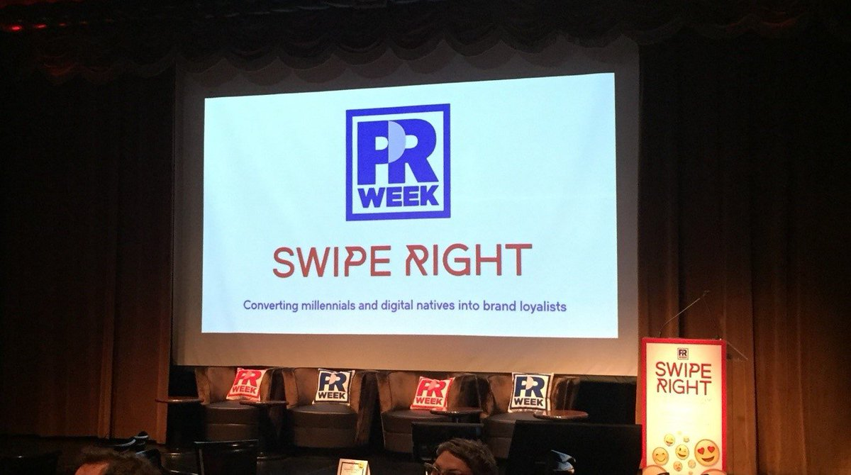 How do you turn millennials into brand loyalists? Find out here:  http:// bit.ly/2yxhDQq  &nbsp;   #PRWSwipeRight @PRWeekUS<br>http://pic.twitter.com/OLvc05r5il