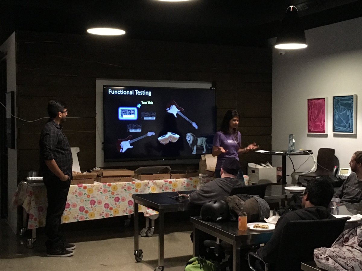 Thank you, Chicago Gophers, for welcoming us and the chance to present on golden files #testing in #golang used at @enova  #goodcrowd<br>http://pic.twitter.com/yR6YVhBPu7