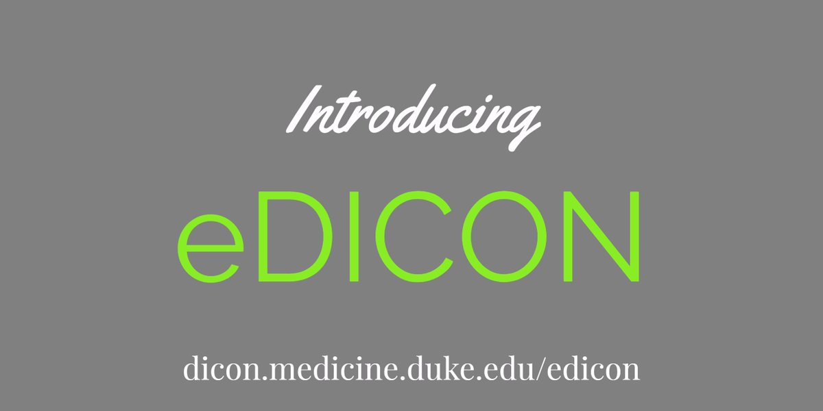 Introducing eDICON, a set of educational tools to support your facility&#39;s #infectionprevention efforts #IIPW2017  https:// dicon.medicine.duke.edu/edicon  &nbsp;  <br>http://pic.twitter.com/kpaNqGPQIN
