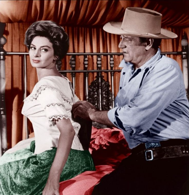 North To Alaska&#39;s on again. Couldn&#39;t you watch these two for days? #Capucine #JohnWayne<br>http://pic.twitter.com/vmiVhaTs1Q