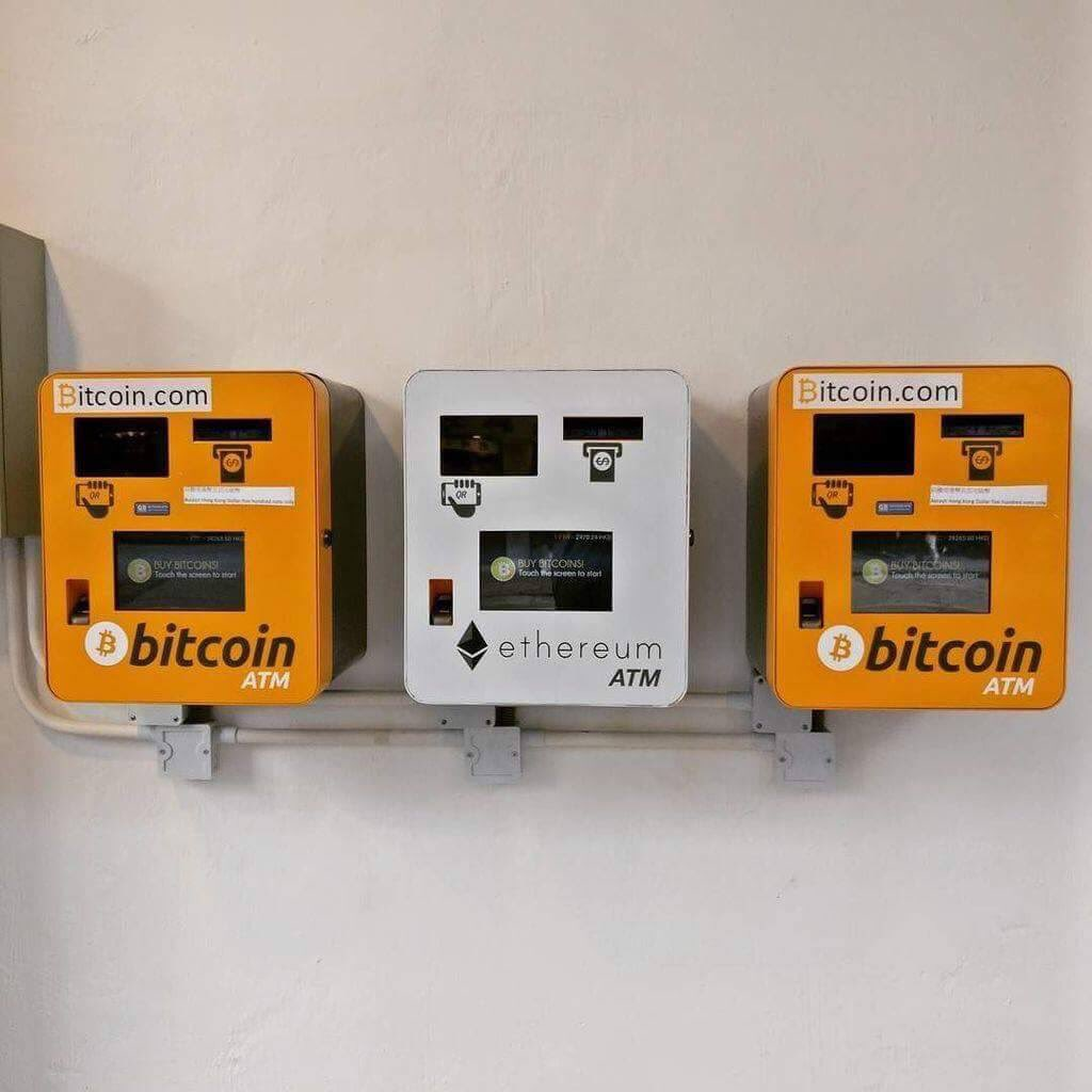 Bitcoin and Ethereum ATMs in Hongkong   #Blockchain #fintech #defstar5 #crypto #IOT #bigdata #banking #Mpgvip #Bitcoin #BTC $btc #makeyourownlane #cryptocurrency #investing #Trading<br>http://pic.twitter.com/mAof5J944c