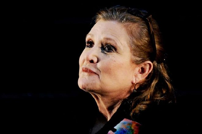 Língua de vaca (!) – 'presentinho' de Carrie Fisher a produtor assediador https://t.co/ullwwFWSLx