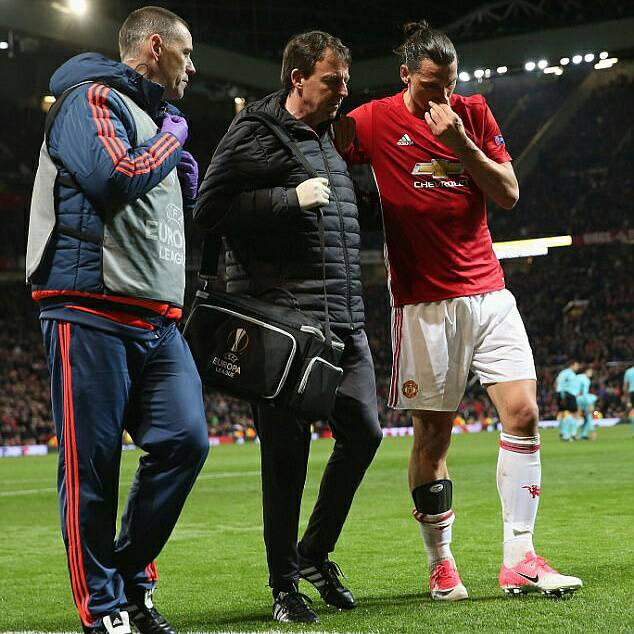 #Ibrahimovic back as #mufc striker spends seven days in first-team training ahead of #UCL clash.  Details   http:// ow.ly/cPqH30fXYj3  &nbsp;   #Zlatan <br>http://pic.twitter.com/no6GfU2esx