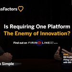 """Is requiring one platform the enemy of innovation? @dHRludlow says """"yes"""" on the new Firing Line: https://t.co/pZBL4Ec3Ud"""