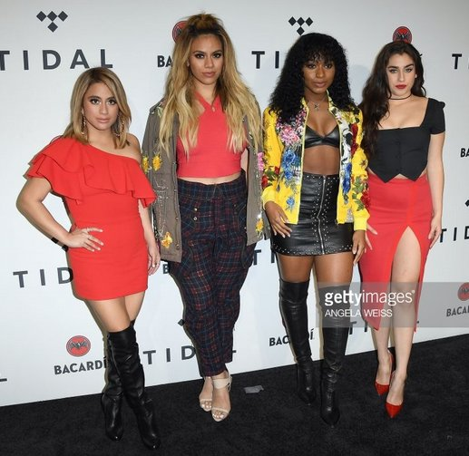 Bombshell in red - @AllyBrooke wore our...