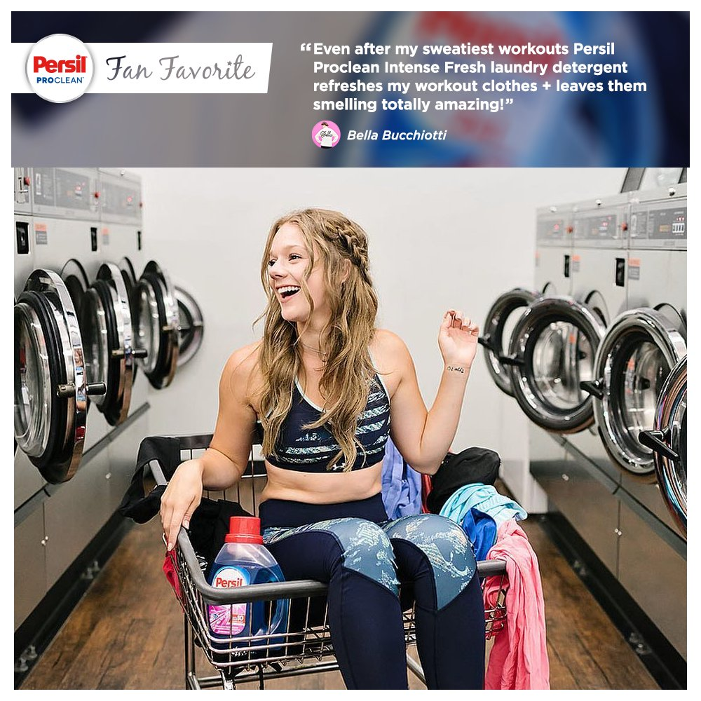 Sweaty #workout clothes? Meet Persil ProClean Intense Fresh laundry detergent - your new challenger in the laundry room 💪 https://t.co/XH8iFYcMOY
