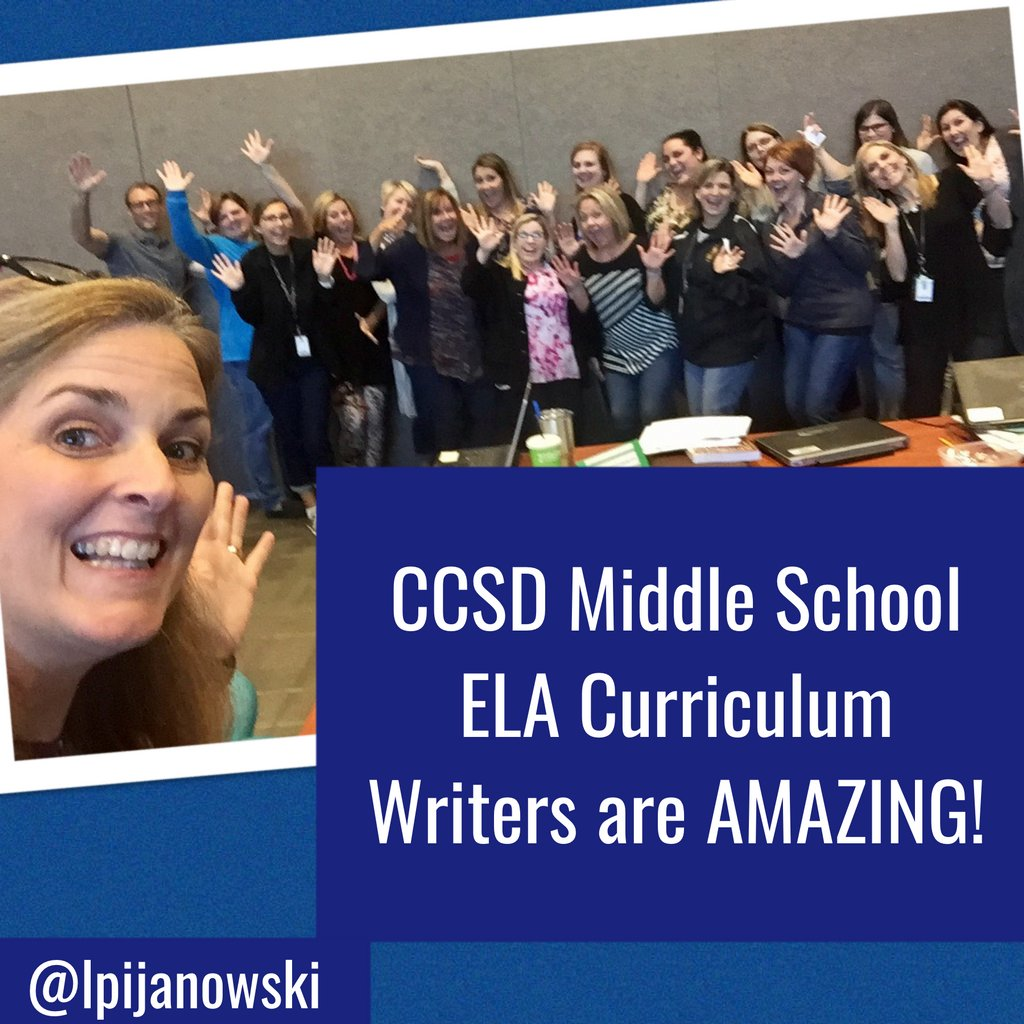 Love this @CherokeeSchools Team of MS ELA Teachers. 3 days into curriculum writing and they are rocking!  #leadered #RCD  @RigorRelevance<br>http://pic.twitter.com/Ru6tega7vK