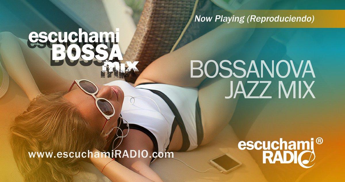 #NP Now Playing #escuchamiBOSSA jazz music mix:  Player (Reproductor)   http:// escuchamiradio.com/player.htm  &nbsp;    TuneIn:  http:// tunein.com/radio/EW-Virtu al-Radio-s117991/ &nbsp; …  <br>http://pic.twitter.com/zgt910ObLq