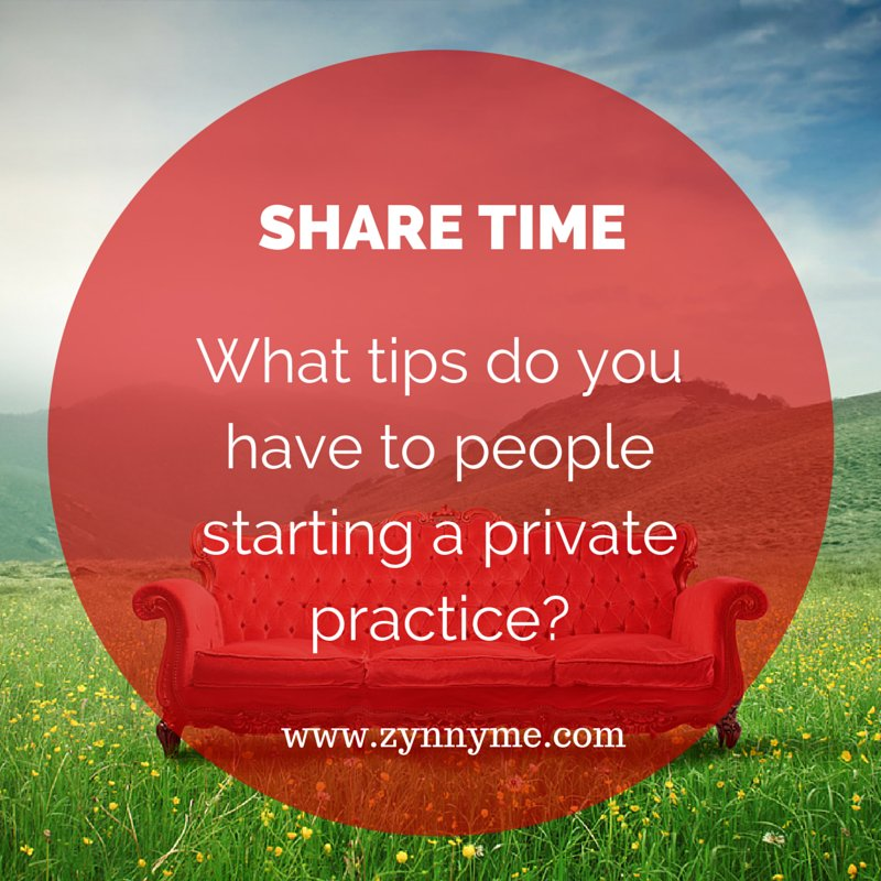 Starting a #privatepractice? What tips do you have to share? <br>http://pic.twitter.com/w3B769g58p