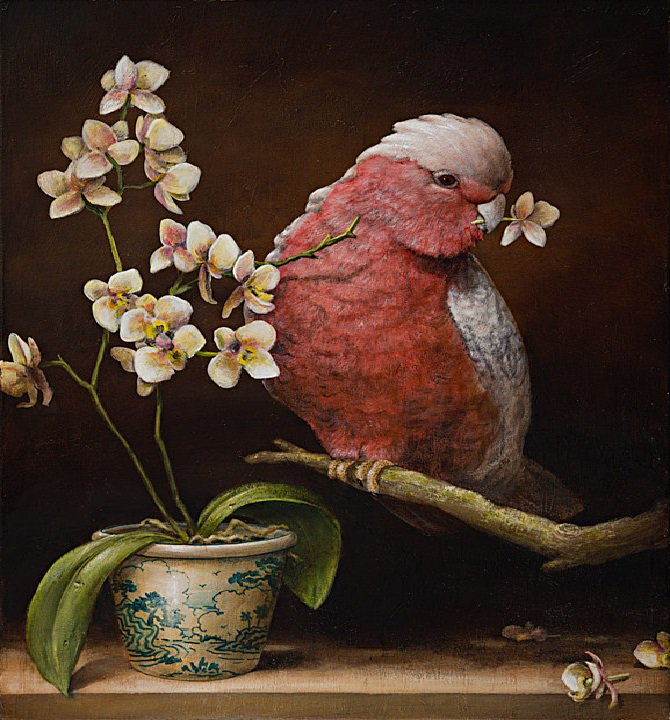 (Allegorical Paintings by Kevin Sloan) #painting #art<br>http://pic.twitter.com/CaxpYqAgVK