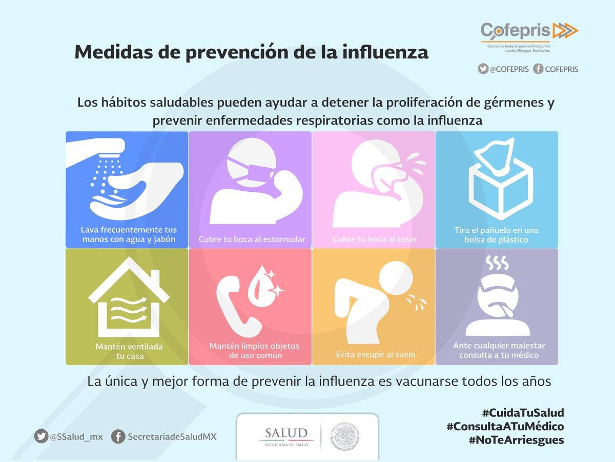 Ya comenzó la #TemporadaDeFrío y con ella la campaña de vacunación con...