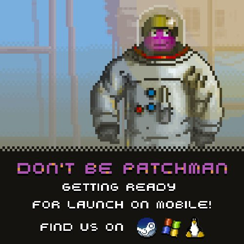 Launching tomorrow on mobile...  http://www. dontbe.ca  &nbsp;   #indiegame #pixelart #isometric #steam #android #ios #adventure<br>http://pic.twitter.com/TZn6NFQbKq