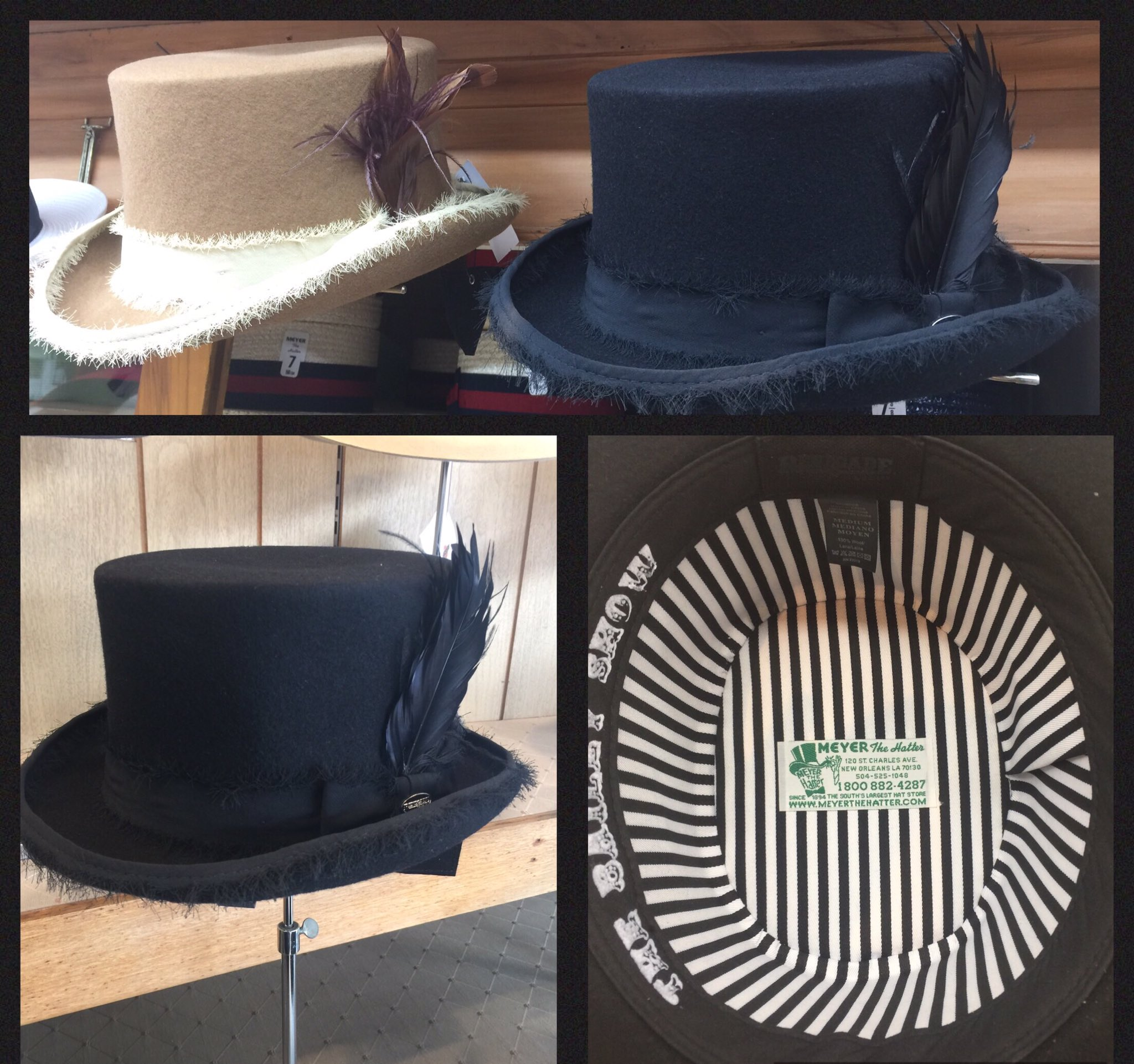 3a7413ae26c MEYER THE HATTER ·  MeyerTheHatter. The South s Largest Hat Store.