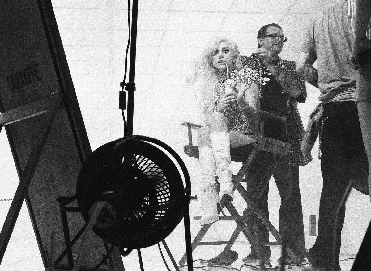 Lady Gaga and Jeremy Irons .....in a Ridley Scott film!