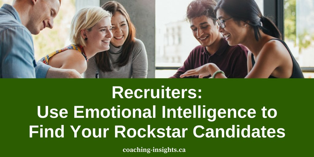 #Recruiting needs a heaping dose of #EmotionalIntelligence when it comes to #hiring the right candidates.  https:// buff.ly/2kTvMT8  &nbsp;   #EQ #Work<br>http://pic.twitter.com/k14HKsf5rC