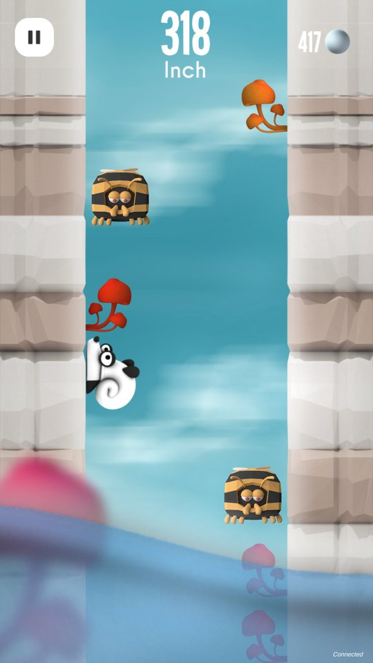 Snail against gravity !  http:// crwd.fr/2xNBEOS  &nbsp;   #indiegame #gamedev #ios #android #gaming #madewithunity<br>http://pic.twitter.com/2WgnNOEf4M