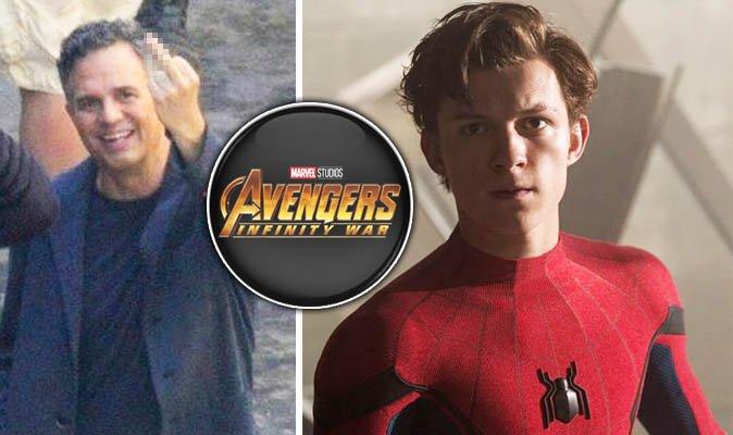 #AvengersInfinityWar star #markruffalo takes down #TomHolland #Spiderman in EPIC style…https://t.co/1DUWvBSYlg