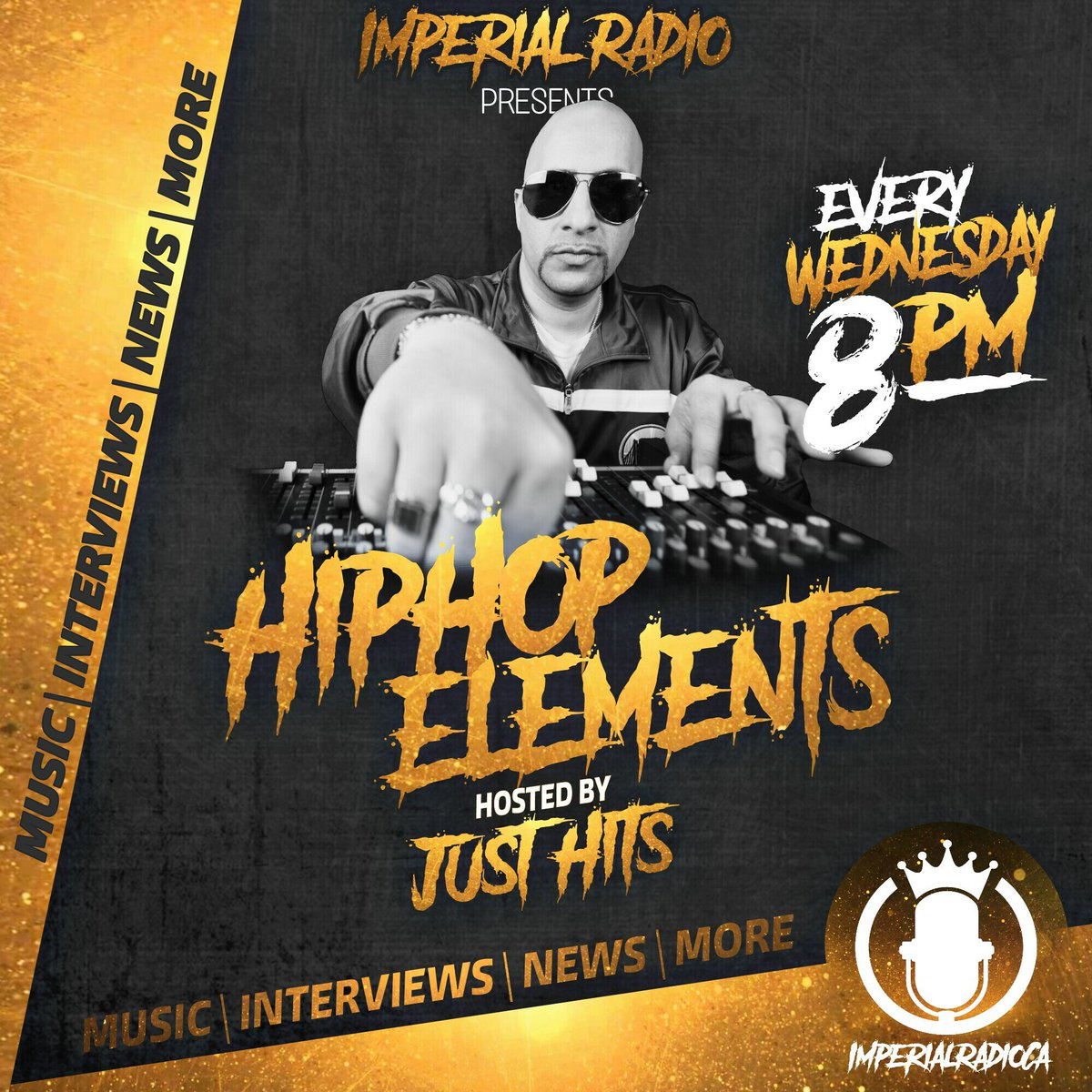 Tonight 8pm est 5pm pst catch @GooseBigelow on HIPHOP ELEMENTS ALL CITY RADIO listen here.......  http://www. therealiumg.com/radio  &nbsp;   #hiphop #Interview <br>http://pic.twitter.com/g71pa5XGD1